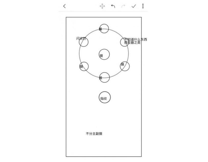 Czy pięć obiektywów sprawi, że aparat Nokii 10 dorówna najlepszym? /Baidu /Internet