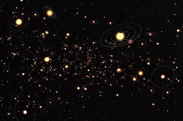 Czy planety są faktycznie powszechne we wszechświecie? (Ilustracja: NASA) /materiały prasowe