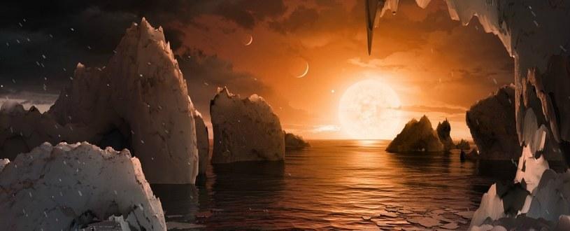 Czy planety układu TRAPPIST-1 nadają się do życia? Wygląda na to, że nie /NASA