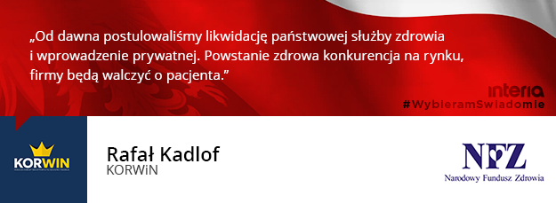 Czy popiera Pan/Pani likwidację NFZ? /INTERIA.PL