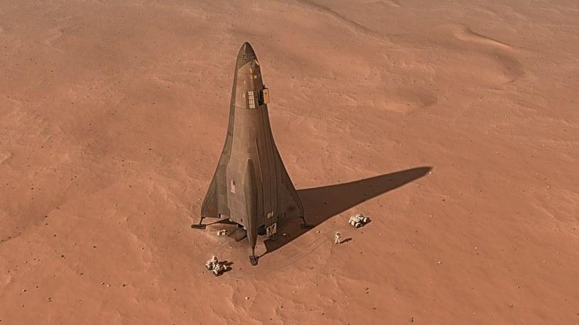 Czy powinniśmy lecieć na Marsa? /materiały prasowe
