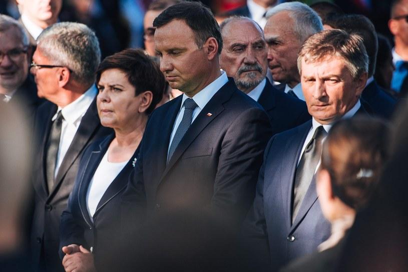 Czy prezydent Duda okaże podmiotowość w konfrontacji z ministrem Macierewiczem? /Bartosz Bańka /Agencja Gazeta/ x-news