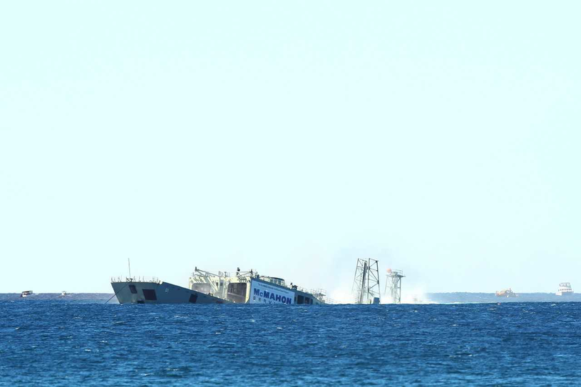 Czy proponowane Polsce okręty podzielą los swoich starszych sióstr i skończą jako atrakcja dla nurków? /Getty Images