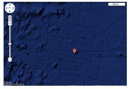 Czy regularna struktura na dnie oceanu to pozostałości po legendarnej Atlantydzie? /materiały prasowe