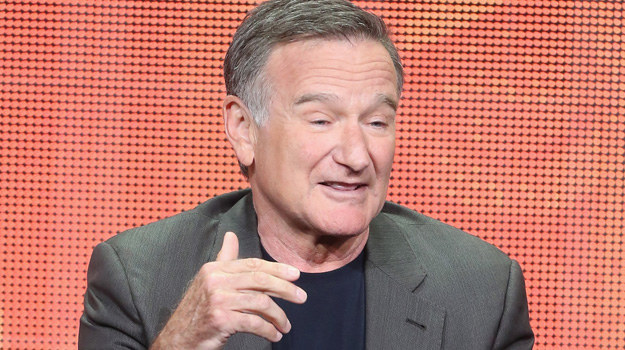 Czy Robin Williams poradzi sobie z nałogiem? /Federick M. Brown /Getty Images
