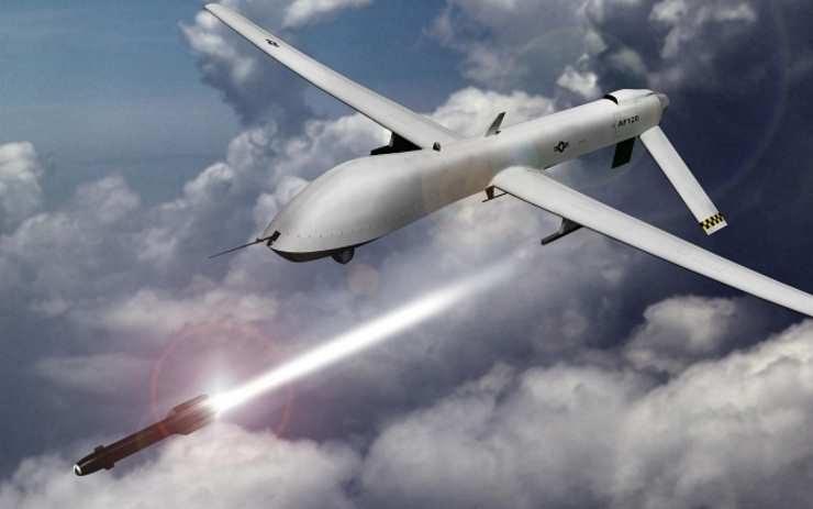 Czy roboty i sztuczna inteligencja są zagrożeniem dla ludzkości? Dron General Atomics MQ-1 Predator. Fot. US Air Force /materiały prasowe