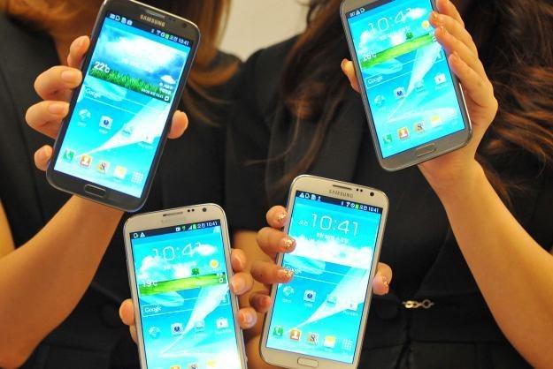 Czy rodzina Galaxy wzbogaci się o smartfona typowo muzycznego? /AFP