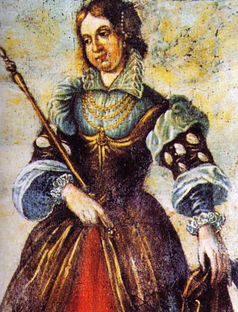 Czy Rycheza naprawdę zasłużyła sobie na wszystkie inwektywy, jakimi ją obrzucano przez wieki? Na ilustracji fragment nowożytnego malowidła z Brauweiler (źródło: domena publiczna) /Ciekawostki Historyczne