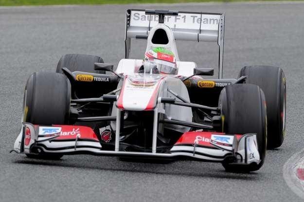 Czy Sauber dołączy do czołówki F1? /AFP