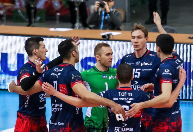 Czy siatkarze ZAKS-y awansują do Final Four LM? /Dominik Gajda /PAP