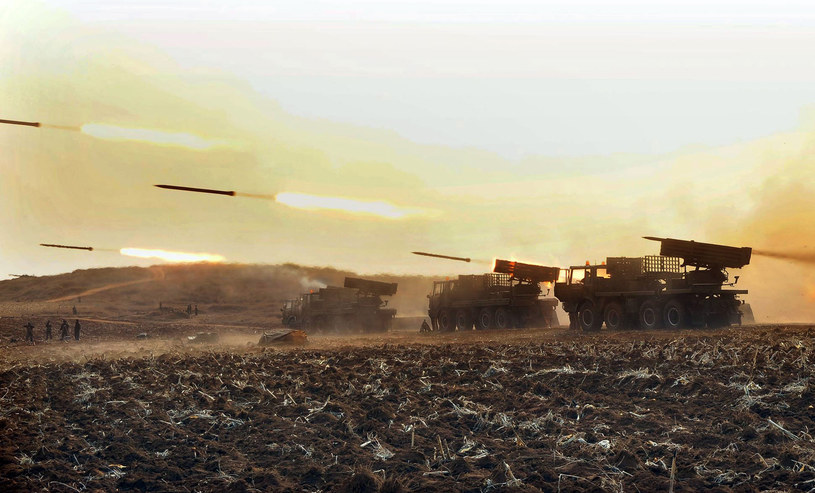 Czy siły Korei Płn. zaatakują Południe? /AFP
