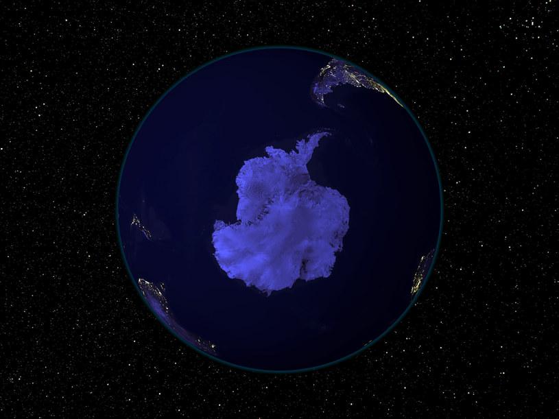 Czy skuta lodem Antarktyda była kiedyś zamieszkana przez zaawansowaną cywilizację? /AFP