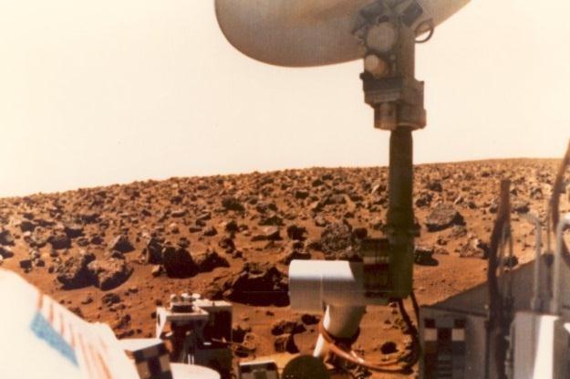 Czy sonda Viking 1 faktycznie odkryła życie na Marsie? Niektórzy badacze wierzą, że tak /materiały prasowe