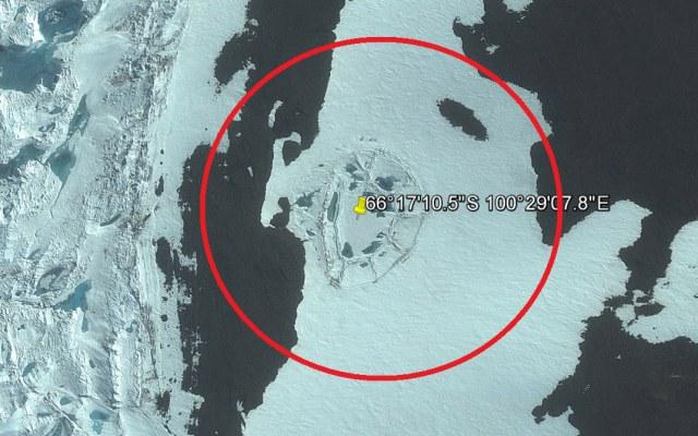 """Czy """"tajemnicza struktura"""" na Antarktydzie jest naturalną formacją zbudowaną z lodu i śniegu? /Innemedium.pl"""
