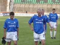Czy tak będą wyglądać miny piłkarzy Ruchu po meczu z Legią /www.zaglebie-lubin.pl