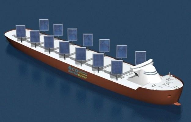 Czy tak będą wyglądać statki transportowe? Fot. Eco Marine Power /materiały prasowe