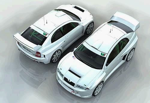 Czy tak będzie wyglądać fabia WRC?/ kliknij /Internet