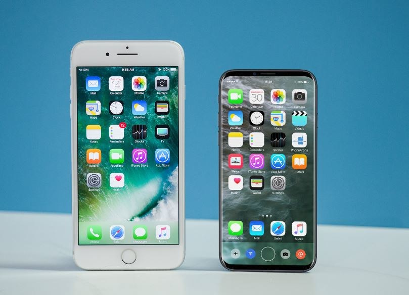 Czy tak będzie wyglądał iPhone 8? /Phonearena /Internet