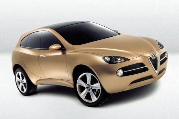 Czy tak będzie wyglądał jeden z nowych modeli Alfy? /