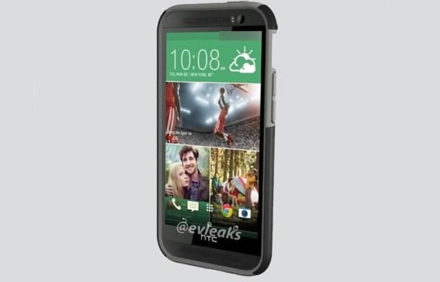 Czy tak wygląda następca HTC One? /materiały prasowe