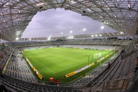 Czy takich stadionów - jak ten w Kielcach - będzie w Polsce więcej? Fot. Tomasz Markowski /Agencja Przegląd Sportowy