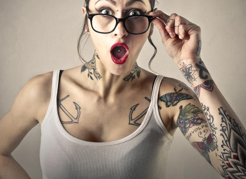 Czy tatuaże mogą być niebezpieczne? Naukowcy mają dowody na ich szkodliwość /123RF/PICSEL