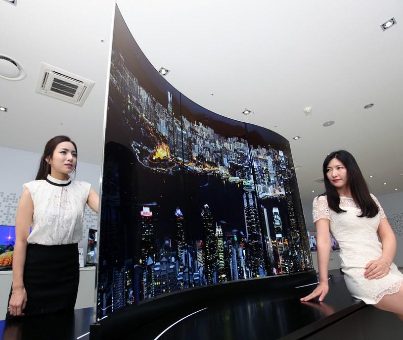 Czy telewizory OLED w końcu będą standardem na rynku? /materiały prasowe
