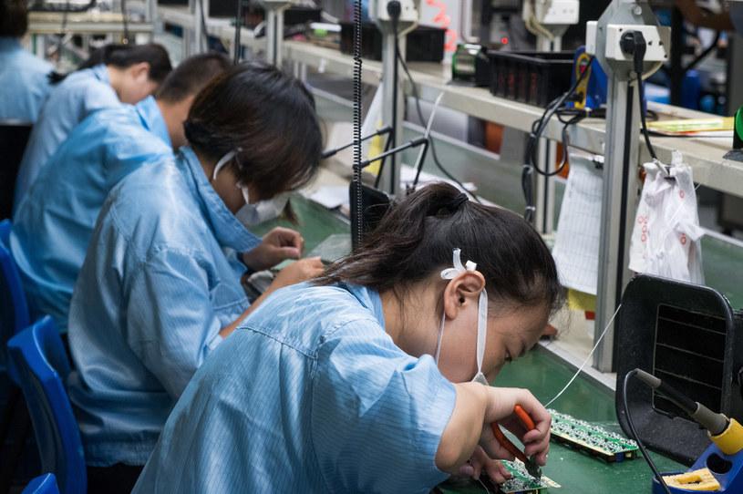 Czy to już koniec elektroniki produkowanej w Chinach? /123RF/PICSEL