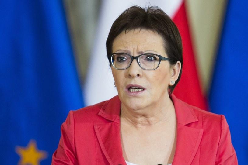 """Czy to koniec PO? Według Maliszewskiego, jeszcze nie czas, by """"wkładać PO do trumny""""; na zdj. Ewa Kopacz /Andrzej Hulimka  /East News"""