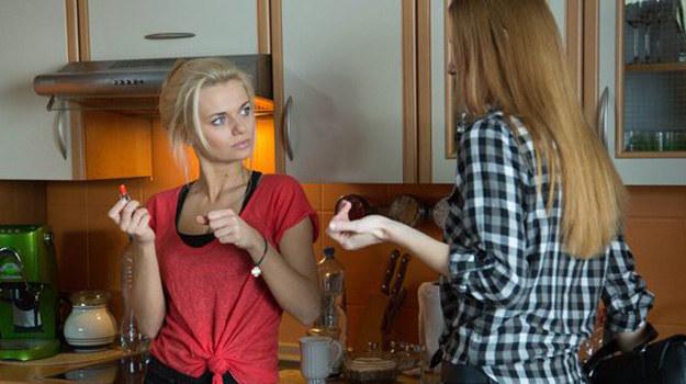 Czy to koniec przyjaźni Agaty i Wiki? /www.nadobre.tvp.pl/