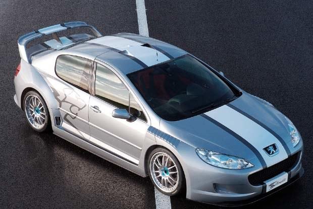 Czy to zapowiedź modelu 407 coupe? / kliknij /INTERIA.PL