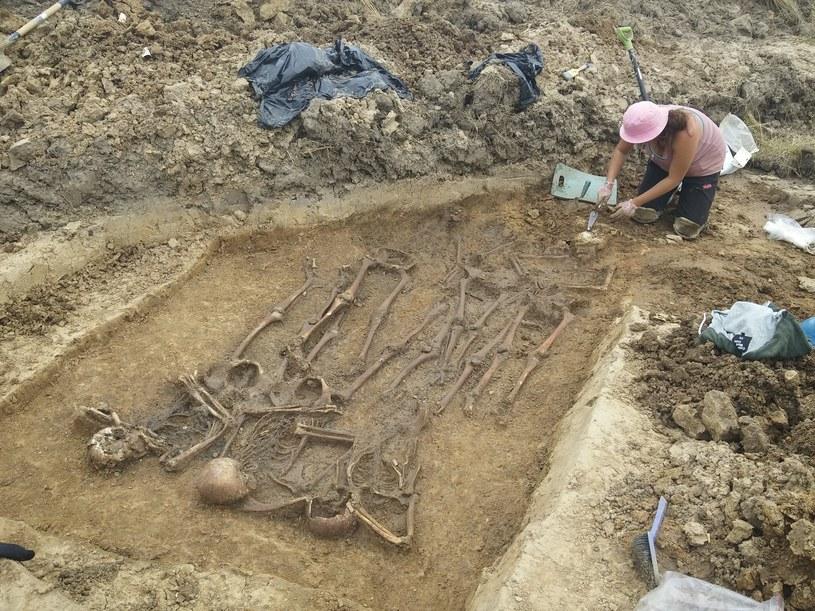 Czy to zbiorowe groby żołnierzy pruskich? /Odkrywca /Odkrywca