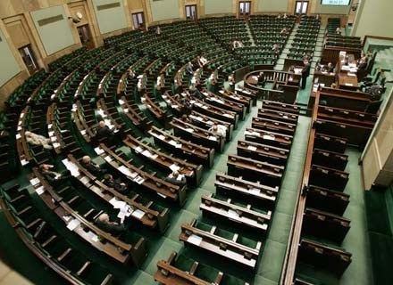 Czy topless nie gryzie się z powagą Sejmu?/fot. Piotr Grzybowski /Agencja SE/East News