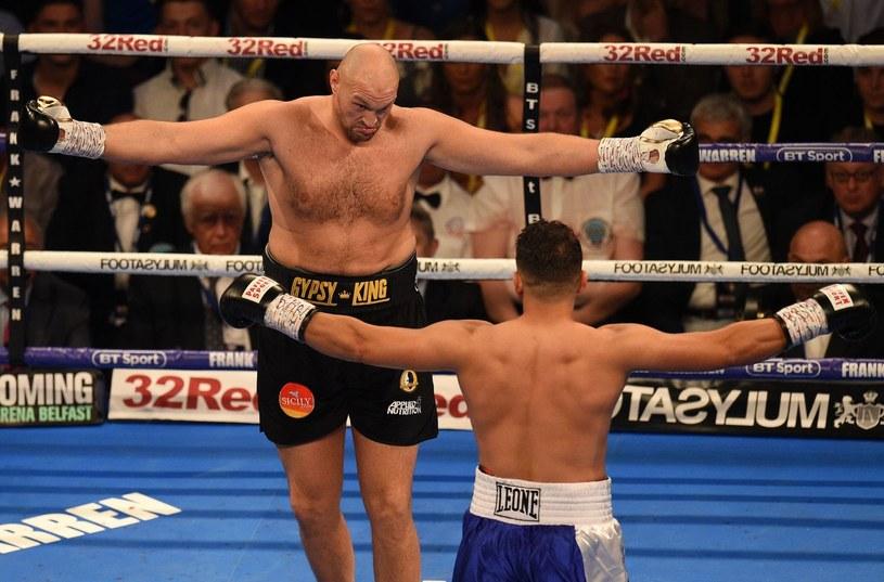 Czy Tyson Fury jest gotowy na poważną walkę? /AFP