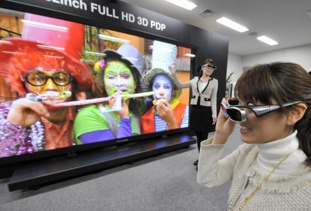 Czy uda się stworzyć jeden standard okularów 3D? /AFP