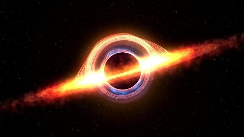 Czy uda się zrobić pierwsze w dziejach zdjęcie czarnej dziury? /123RF/PICSEL