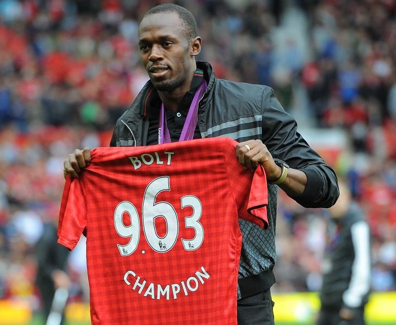 Czy Usain Bolt dołączy do Manchesteru United na dłużej? /AFP