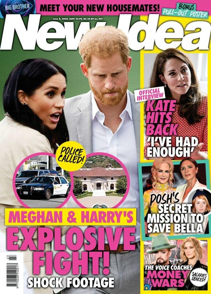 Czy w domu Meghan i Harry'ego faktycznie dochodzi do karczemnych awantur? /materiał zewnętrzny