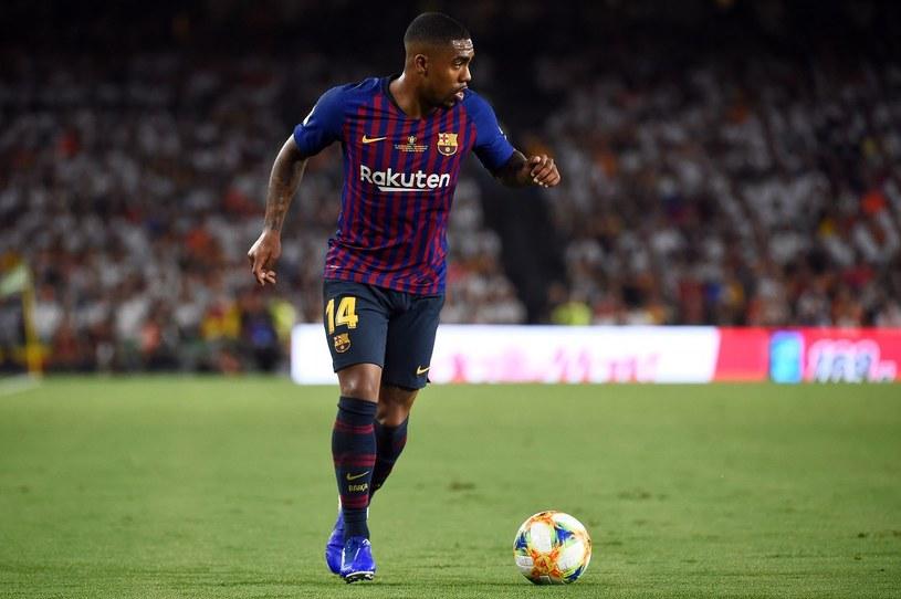 Czy w kadrze Barcelony na najbliższy sezon znajdzie się miejsce dla Malcoma? /JOSE JORDAN /AFP