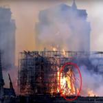 Czy w płonącej katedrze Notre Dame ukazał się Jezus?