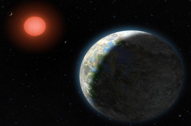 Czy w przyszłości zamieszkamy na odległej planecie ? /AFP