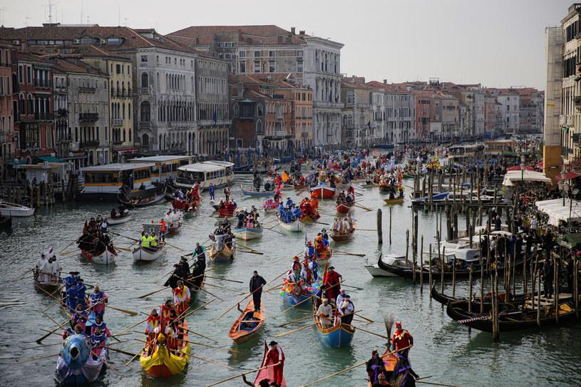 Czy Wenecja zostanie zalana? Wiele na to wskazuje /AFP
