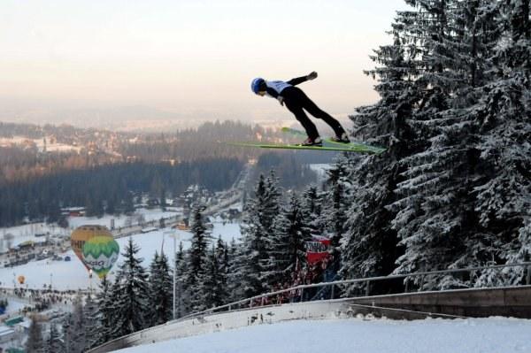 Czy Wielka Krokiew w Zakopanem doczeka się igrzysk olimpijskich? /AFP