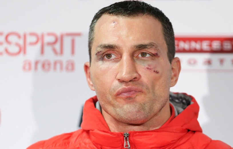 Czy Władimir Kliczko znów zostanie mistrzem świata? /fot. Friso Gentsch /AFP