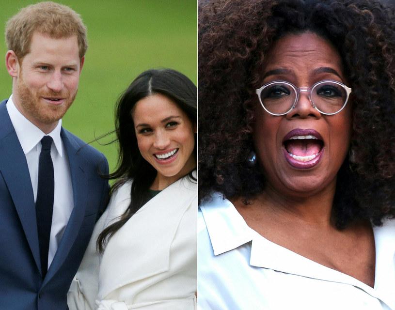 Czy wywiad będzie przełomem w stosunkach pary z pałacem Buckingham? /DANIEL LEAL-OLIVAS/AFP/East News /East News