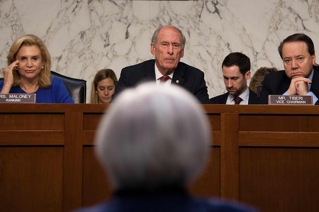 Czy Yellen ostudzi nastroje? /AFP