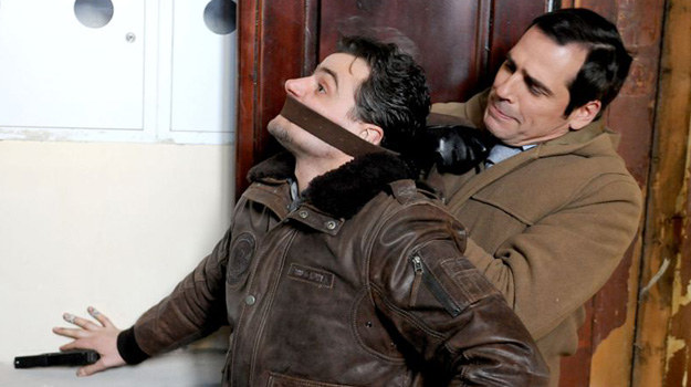 Czy zaatakowany przez psychopatę Orlicz pokona napastnika? /Agencja W. Impact