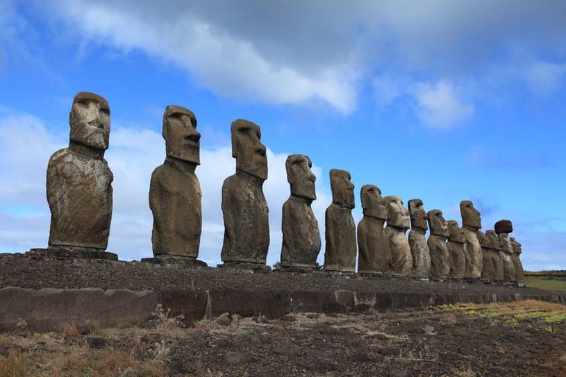 Czy zagadka posągów z Wyspy Wielkanocnej została rozwiązana? /123RF/PICSEL