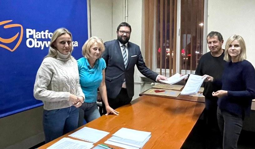 Czy zmienią się władze w mazowieckiej PO? /Aleksandra Gajewska /Twitter