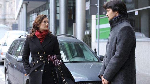 Czy Zuza zakończy romans z Łukaszem? /Polsat
